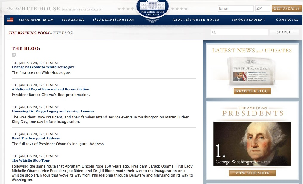 White House Blog