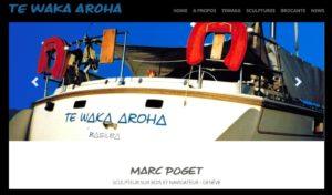 Te Waka Aroha - Marc Poget Sculpteur sur bois
