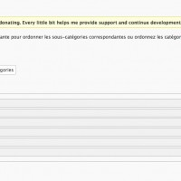 WordPress: ordre des catgories
