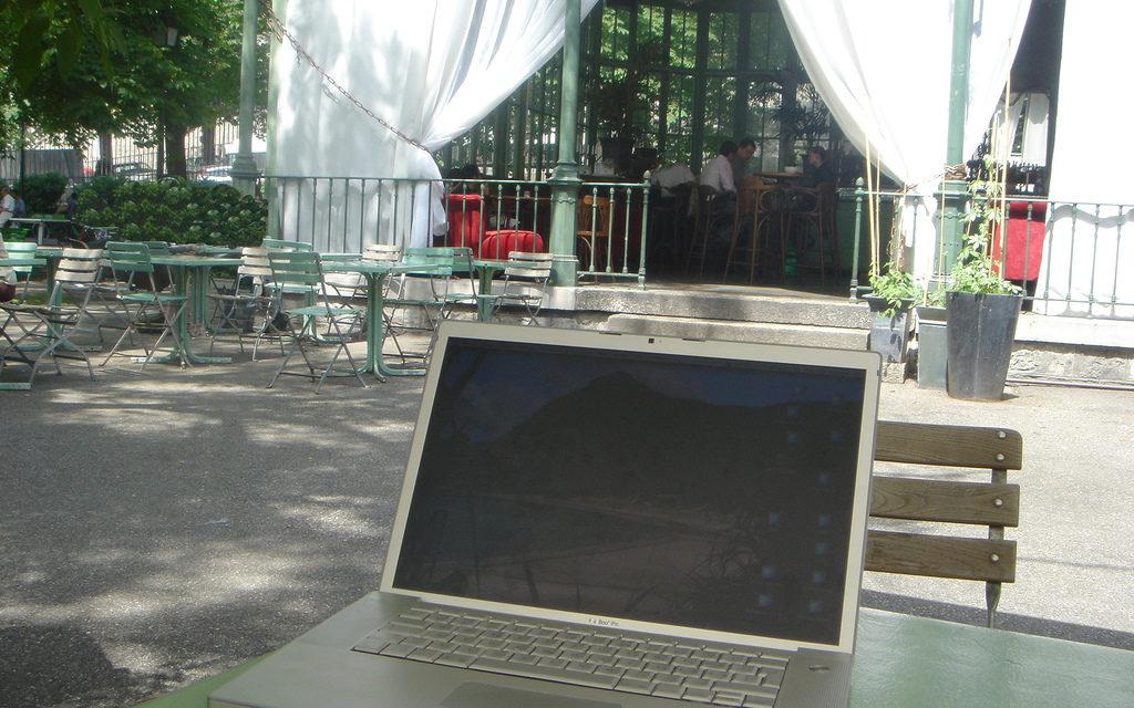Wifi gratuit au Parc des Bastions