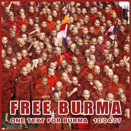 Free Burma, action du 4 octobre