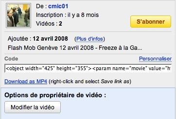 Télécharger des vidéos YouTube au format MP4
