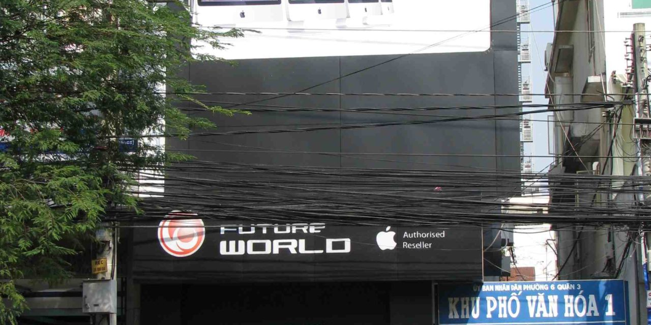 Revendeur Apple à  Saigon