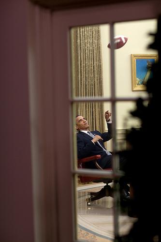 Obama dans son bureau