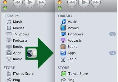 Rétablir la couleur des icônes dans iTunes 10