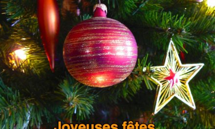 Joyeux Noël et bonnes fêtes à tous