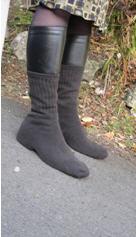 chaussettes anti-verglas