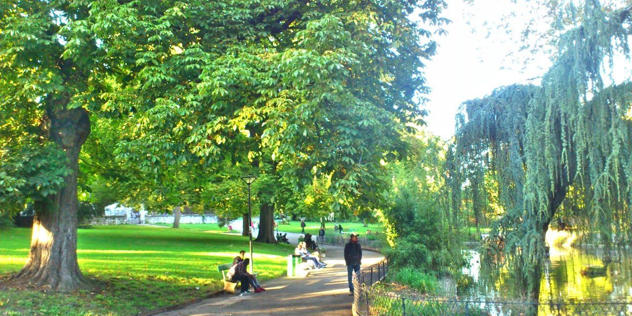Parc des Cropettes un jour d'automne