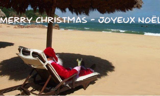 Merry Christmas, Joyeux Noël!