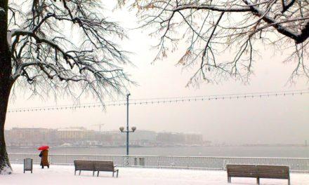 Genève sous la neige