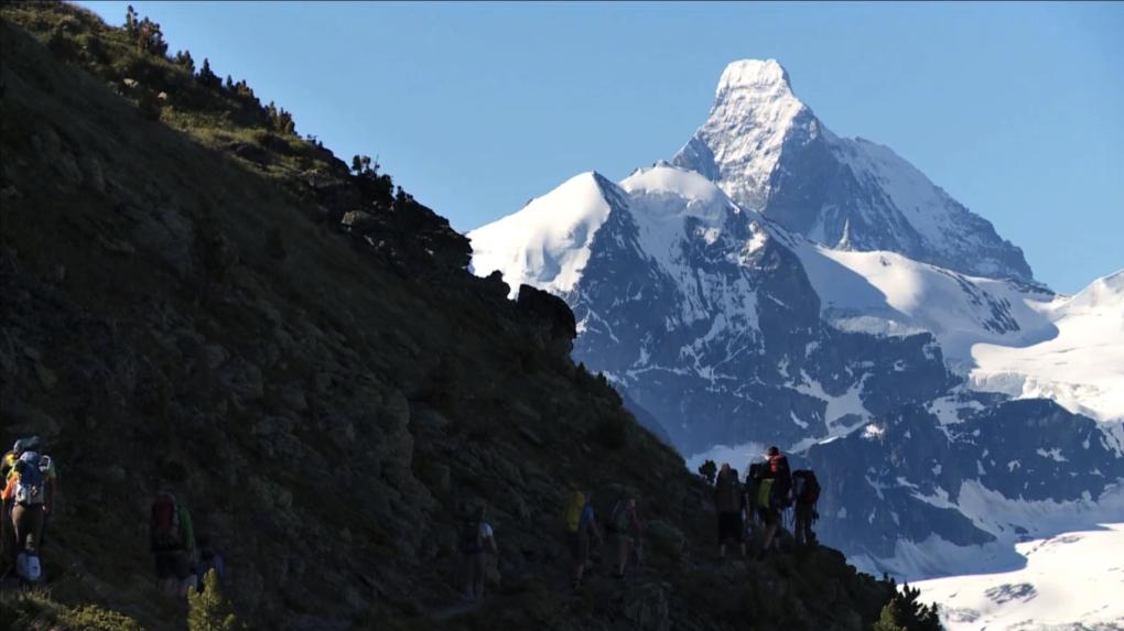 Le tour du Cervin, un docu-réalité suisse