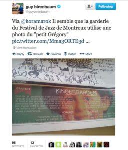 tweet guybirenbaum affiche festival montreux jazz