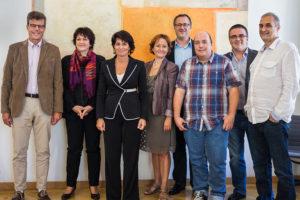 Blogueurs au DETEC avec Mme Doris Leuthard - © Breew.com
