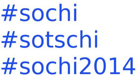 Sotchi ou Sochi?