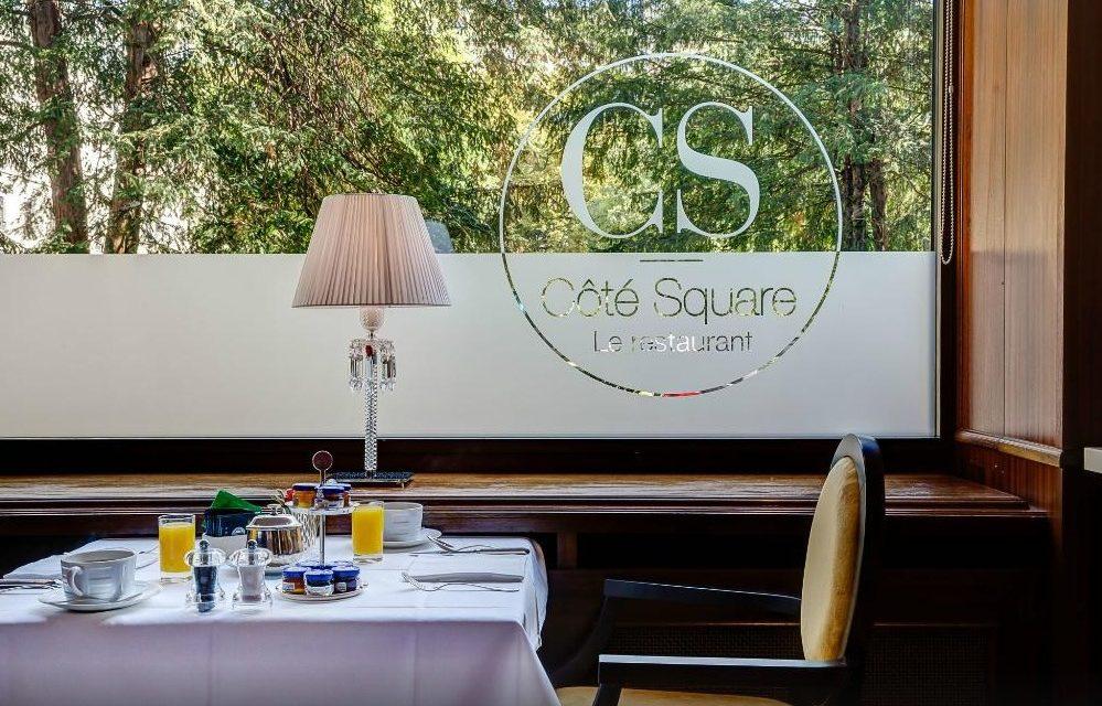 Côté Square, le nouveau restaurant de l'hôtel Bristol à Genève