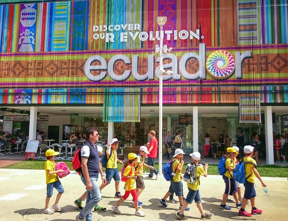 Pavillon de l'Equateur Expo 2015 Milan