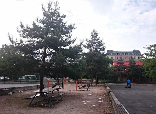 J'ai testé le fitness urbain à Genève
