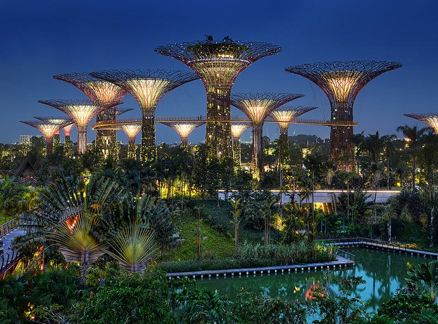 Gardens by the Bay Singapore - Photo by williamcho / CC BY-NC-SA