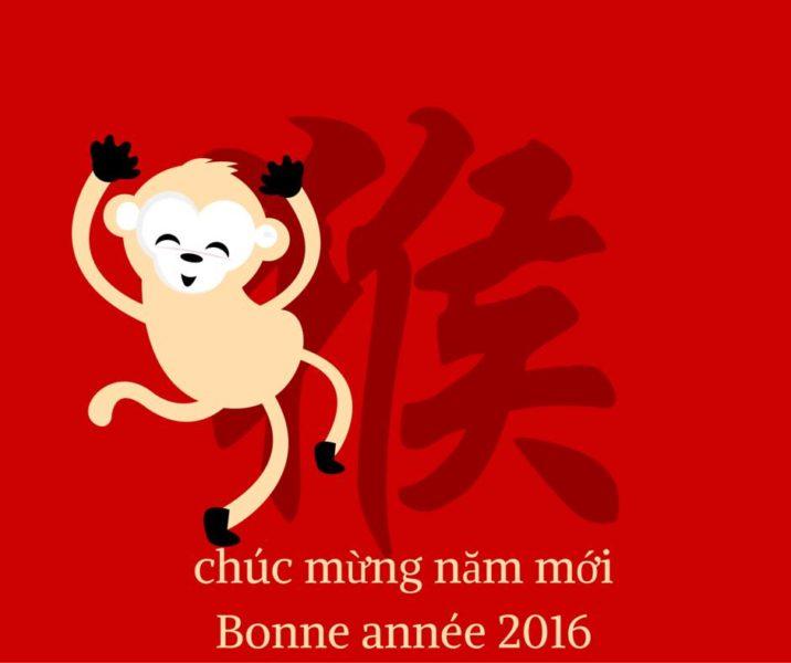 Fête du Têt 2016 année du singe