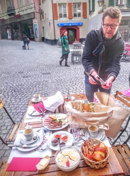 Lausanne à table - Bruch Chalet des enfants