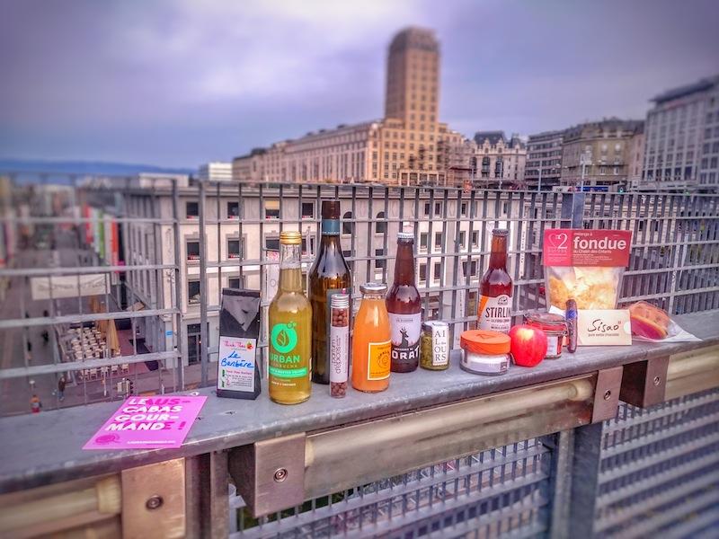Lausanne à table produits du terroir
