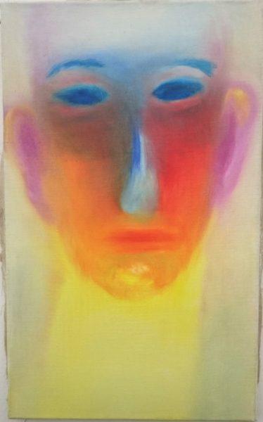 Miriam Cahn, oil on canvas